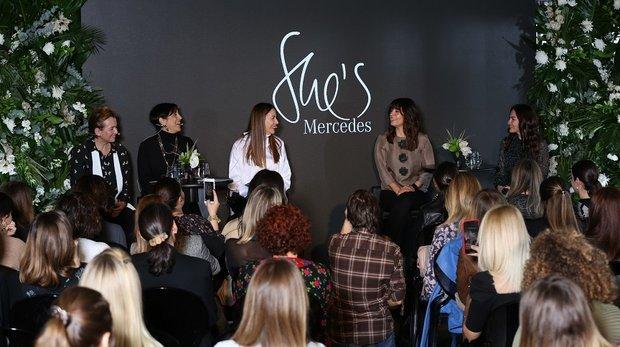 İlham veren güçlü kadınlar She's Mercedes'te buluştu