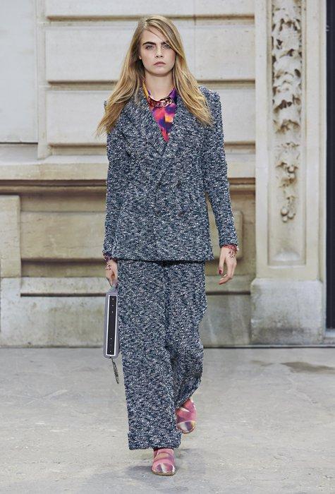 Chanel 2015 İlkbahar-Yaz Moda Koleksiyonu chanel ss2015 2015 1