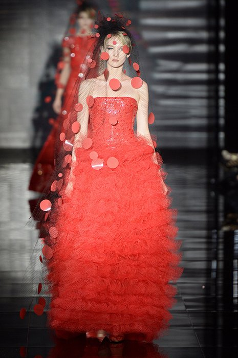 Giorgio Armani Prive Haute Couture 2014 Sonbahar Koleksiyonu giorgio armani prive 1