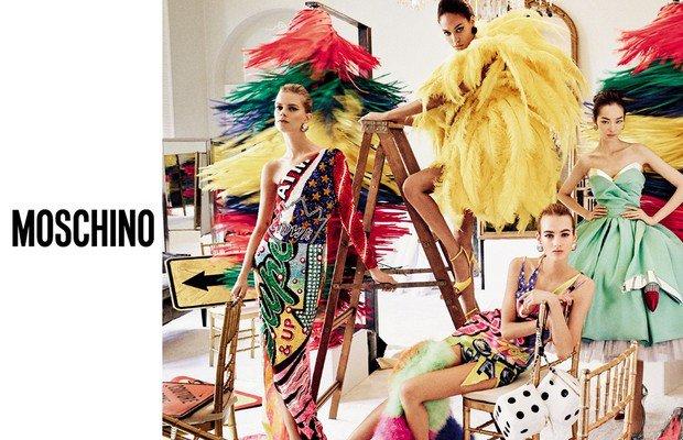 En iyi 2016 İlkbahar-Yaz reklam kampanyaları Moschino