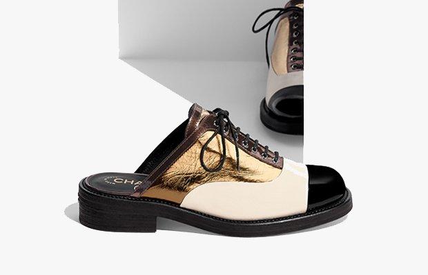 Chanel'in yeni tasarımı derby ayakkabılarla tanışın