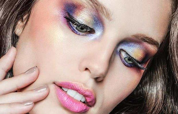 eyeshadow metallic shade