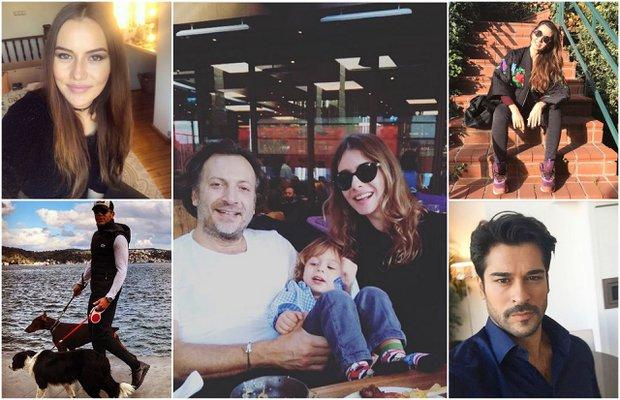Ünlülerin Instagram paylaşımları (14 Kasım - 22 Kasım 2016)