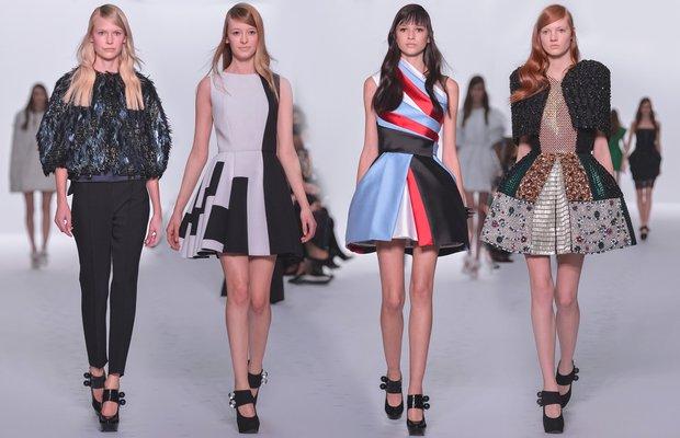 Dice Kayek Haute Couture 2015 İlkbahar-Yaz koleksiyonu dice kayek runway 1