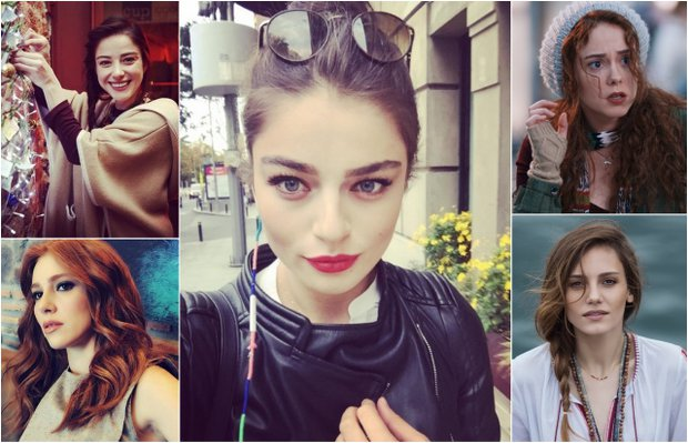Dizilerin en güzel genç kadın oyuncuları