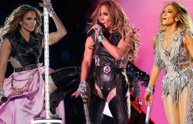 Jennifer Lopez'in Super Bowl 2020 stili