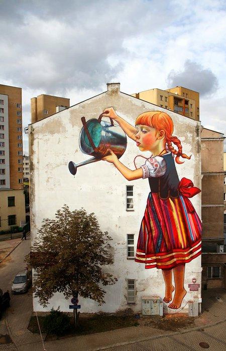 Sanat sokakta! 2 sokak sanati 1
