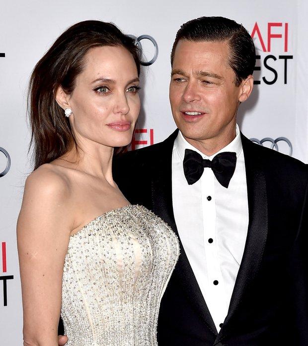 Angelina Jolie Brad Pitt By the Sea galasında