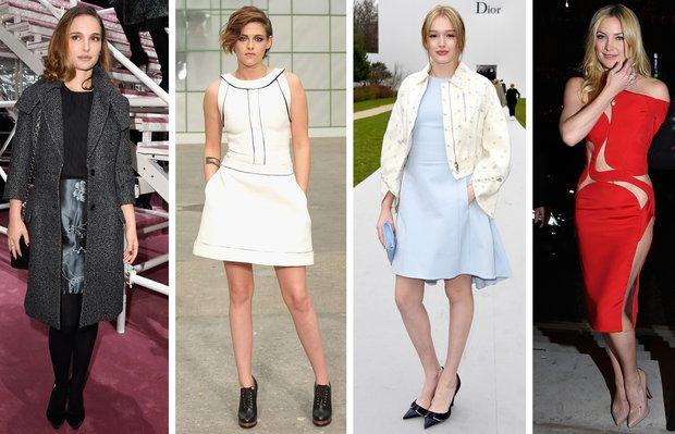 Paris Haute Couture Moda Haftası'nda ünlüler ne giydi? paris fashion week 1
