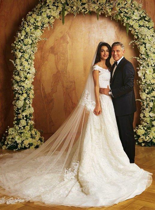 Oscar de la Renta'nın en güzel 100 elbisesi amal alamuddin oscar 1