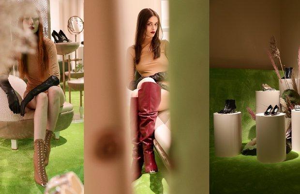 Sergio Rossi'den yeni ayakkabı koleksiyonu: srTwenty