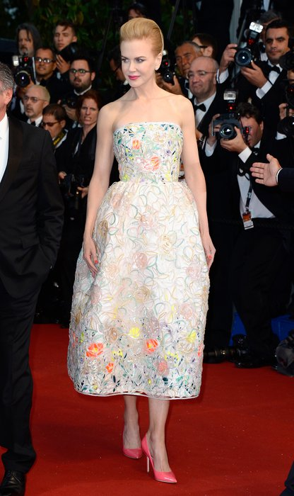 Cannes Film Festivali açılışında kim ne giydi nicole kidman cannes 2