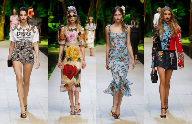 Dolce Gabbana ile tropik esintiler 1