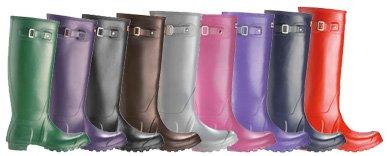 2010'da çok moda: Yağmur çizmeleri hunter boots 8