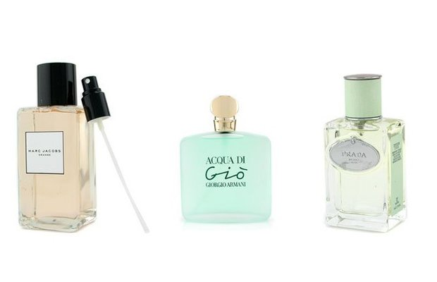 Yaza uygun hafif parfümler