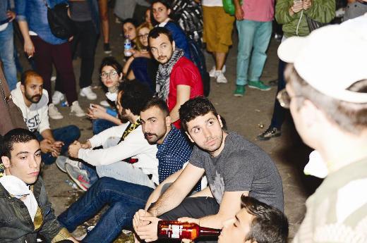 Ünlüler Gezi Parkı eyleminde  2