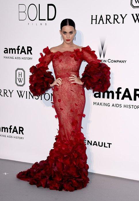 2016 Amfar Galası Katy Perry