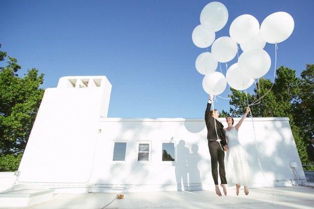 Romantik bir düğün için yaratıcı fikirler