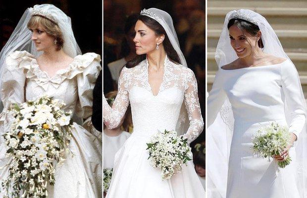 Prens Harry ile evlenen Meghan Markle'ın gelinliği