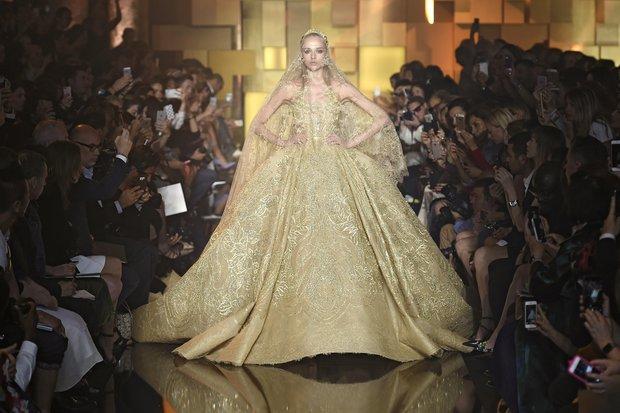 Elie Saab Haute Couture 2015-2016 Sonbahar-Kış Koleksiyonu elie saab 2015 1