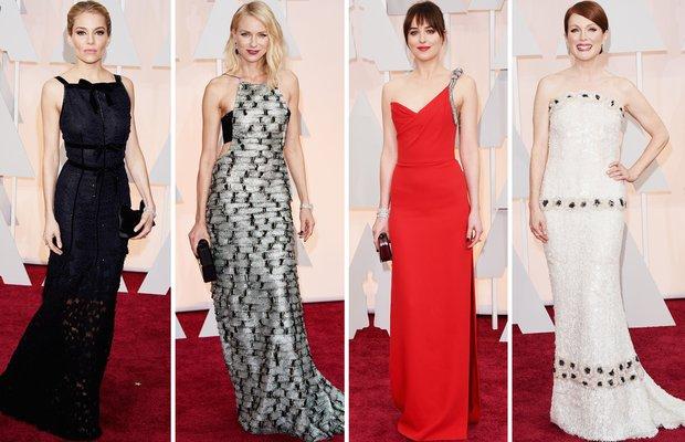 2015 Oscar Ödül Töreni'nde kim, ne giydi? oscar odul toren 1