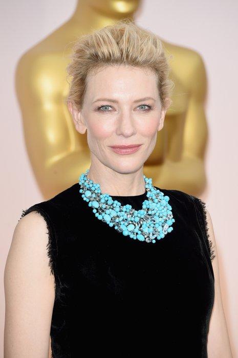 2015 Oscar Ödül Töreninin en güzel saç ve makyajları cate blanchett 2015 2