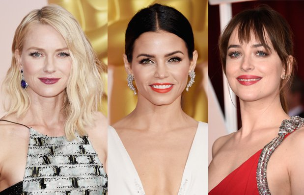 2015 Oscar Ödül Töreninin en güzel saç ve makyajları 2015 oscar toreni 1