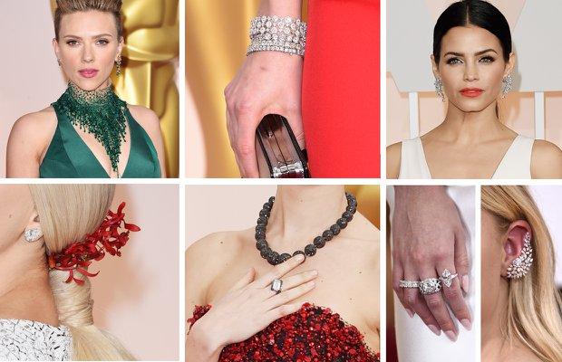 2015 Oscar Ödül Töreninin en güzel mücevherleri mucevher taki aksesuar 1
