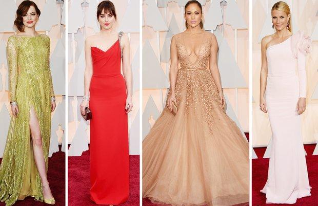 2015 Oscar Ödül Töreni'nin en şık 10 elbisesi elbise oscar odul 1