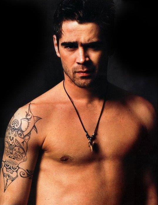Ünlü yıldızların ünlü dövmeleri celebrity tattoos colin 6
