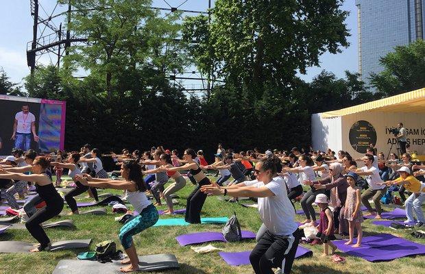 global wellness day kucukciftlik