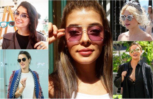 Ünlülerin güneş gözlükleri
