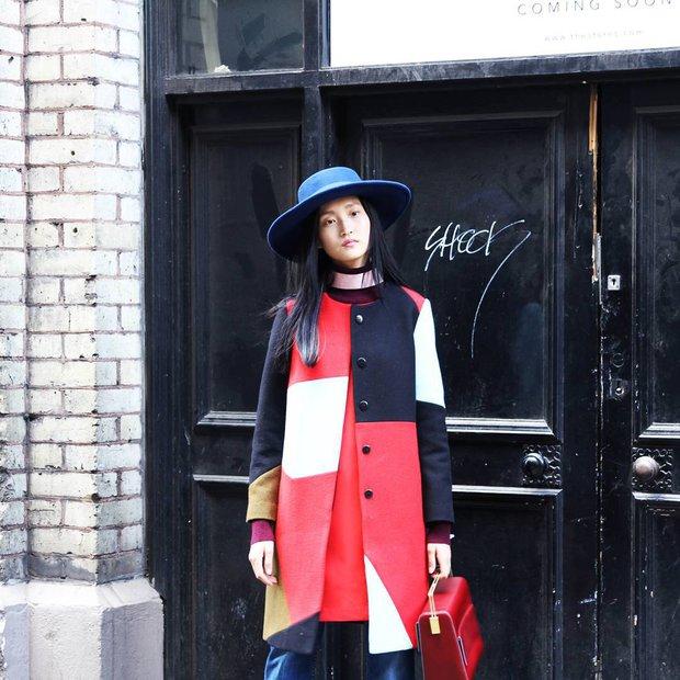 Londra Moda Haftası sokak stilleri (2016 İlkbahar-Yaz) 2