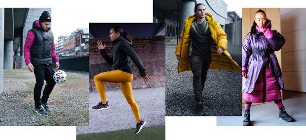 Soğuk havalarda spor için adidas COLD.RDY koleksiyonu