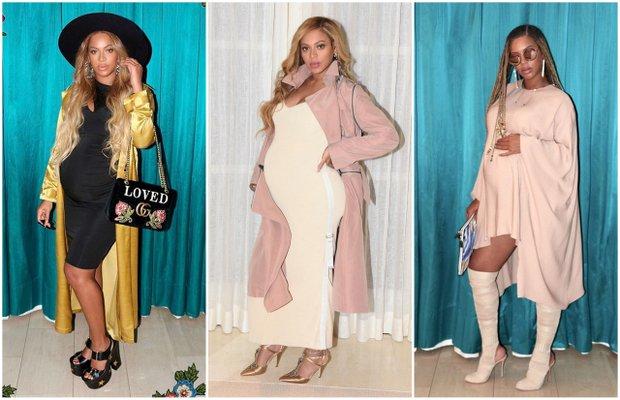 Beyonce'nin hamile stili