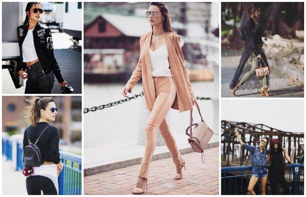 5 adımda Alessandra Ambrosio'nun stili