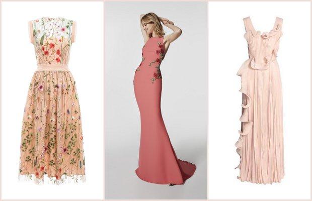 Yaz düğünleri için abiye elbiseler (2017)