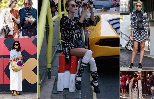 Londra Moda Haftası sokak stilleri (2016 İlkbahar-Yaz) 1