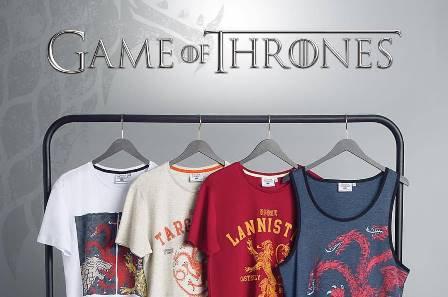 Koton tişörtlerinde Game of Thrones efsanesi