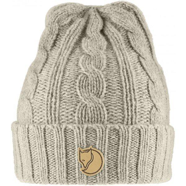 Kış ve kayak tatillerinin vazgeçilmezi: Fjallraven Fjällräven Braided Knit Hat Chalk White 449tl