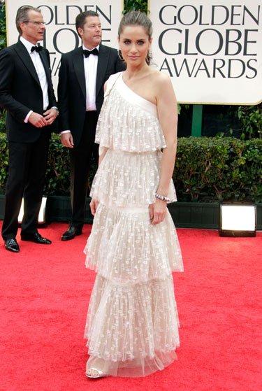 Altın Küre 2012'nin en şık yıldızları Amanda Peet GG 2