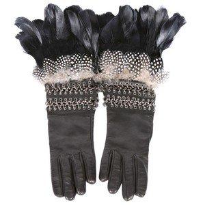 Sezon modası eldivenler alexandermcqueen 2