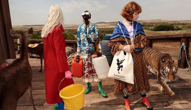 Gucci Cruise 2019 Koleksiyonu'nu sunar... GucciGothic