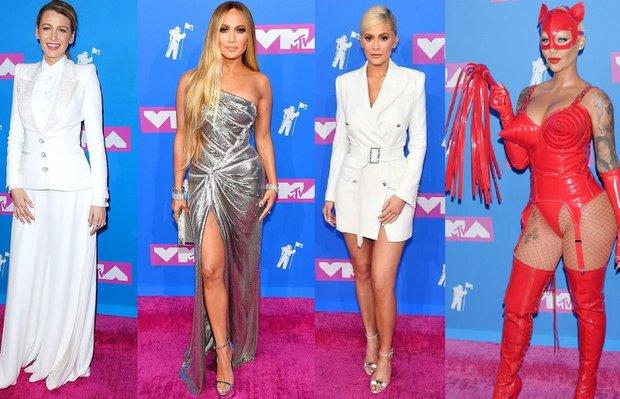 2018 MTV Video Müzik Ödülleri kırmızı halı görünümleri