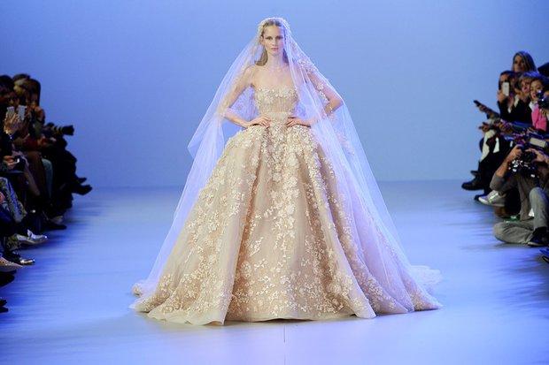 Elie Saab 2014 İlkbahar-Yaz Haute Couture Koleksiyonu elie saab ilkbahar 1