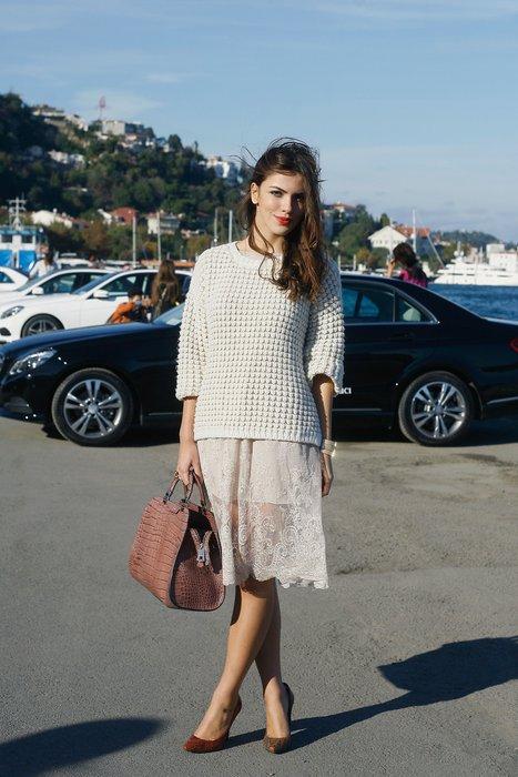 MBFWI / İstanbul Moda Haftası'ndan sokak stilleri moda mercedes benz 1