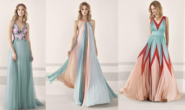 Pronovias 2019 abiye elbise koleksiyonunu tanıttı