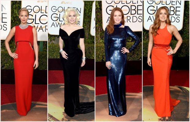 2016 Altın Küre Ödülleri'nde kim, ne giydi?
