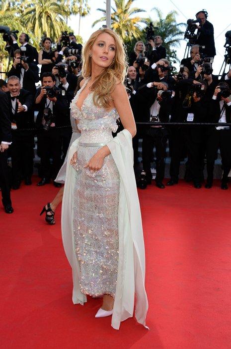 2014 Cannes Film Festivali'nde kim, ne giydi? Blake Lively Chanel 1