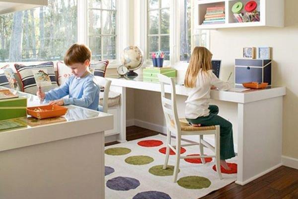Çocuk çalışma odası için 11 dekorasyon fikri
